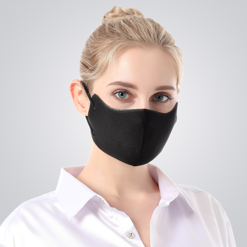 Fashion Breathable Mesh Mouth Mask Anti-Dust Sun Protection 3D Seamless Design Face Mask Women Prevent Saliva Cross Infection 1