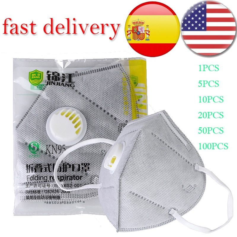 Reusable KN95 Mask Isolation Design Immediately Antiviral PM2.5 Kn95 Face Mask Protective Masks Anti Dust Bacteria 1