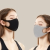 3Pcs/Set Unisex Elastic and three-dimensional 3D design Mouth Mask Dustproof Washable Face Cover Mouth-muffle Earloop