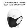 100 Pcs Washable Mud Proof Reusable Face Mouth Masks 100 Pcs Washable Mud ProofReusable Face Mouth Masks , Breathable Tremendous Mushy Cloth, Trend Slim Face Design