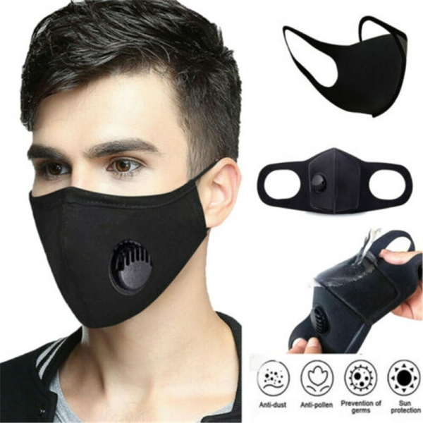 1PCS Cotton Face Mask Breathable Mascherine Reusable Anti Pollution Anti-fog Anti-Dust Face Mask Adult/Child Face Mask