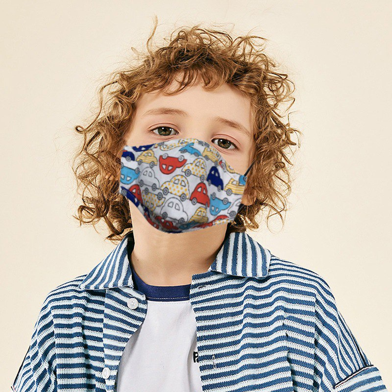 Children Mouth Mask With Breath Design Replaceable Filter Anti Dust Mouth Mask PM2.5 Respirator Kids Face Mask 3