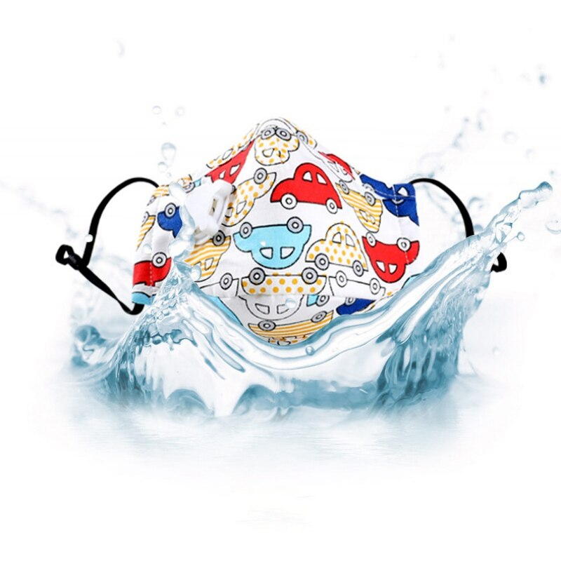 Children Mask With Breath Design Replaceable Filter Anti Dust Mouth Mask PM2.5 Respirator Kids Face Mask With Replaceable Filter 3