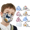 Health Care PM2.5 Children Mask With Breath Design Replaceable Filter Anti Dust Mouth Mask Respirator Kids Face Mask