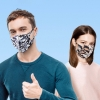 3Pcs Face Mask Washable Reusable Anti-dust Mouth Face Masks Camouflage Sponge Mask Anti Cold Mask Humanized Design