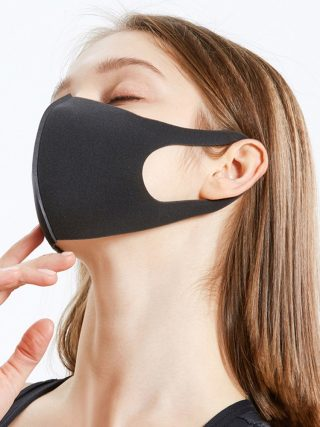 Washable Dust ProofReusable Face Mouth Mask , Breathable Super Soft Fabric, Fashion Slim Face Design