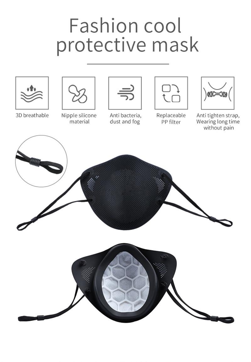 Ship Immediately KN95 Mask PM2.5 Oral and Nasal Isolation Design Mask KN95 Anti-dust Masks Anti fog FFP3 respirator FILTER Mask 3