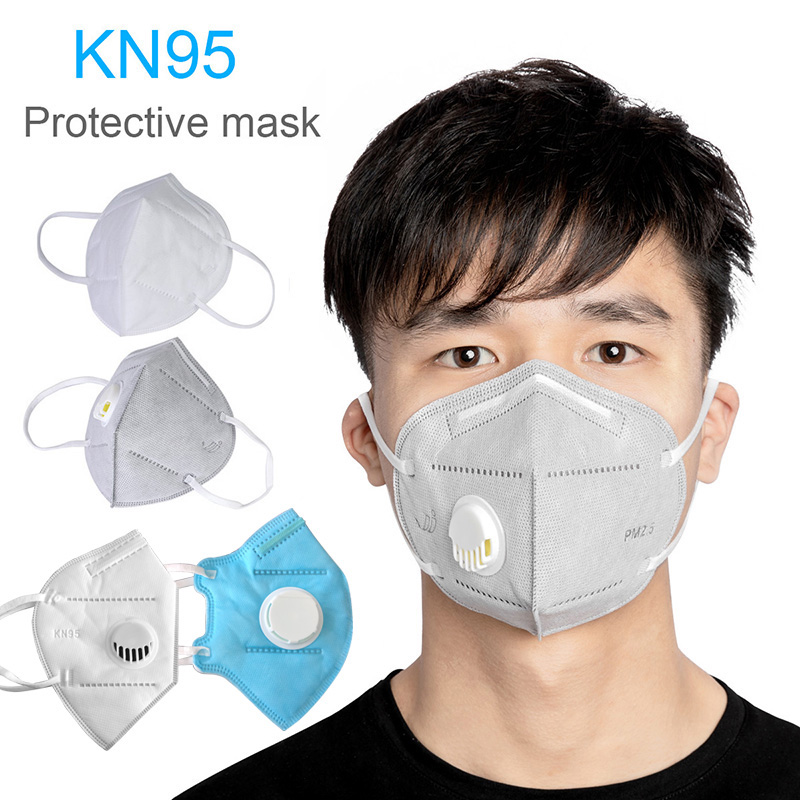Reusable KN95 Mask Isolation Design Immediately Antiviral PM2.5 Kn95 Face Mask Protective Masks Anti Dust Bacteria 2