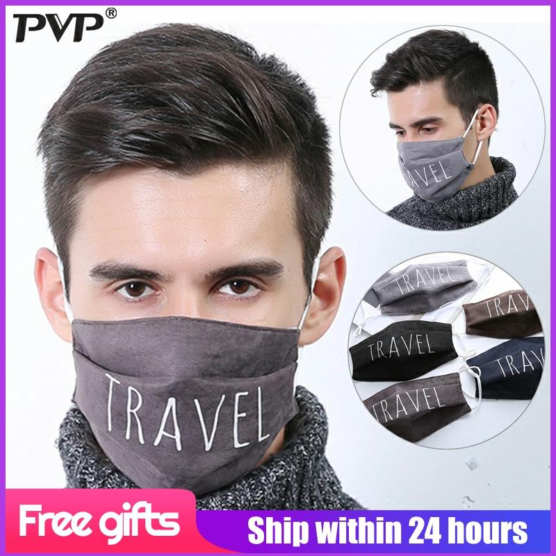 Fashion Face Mouth Mask Anti Dust Mask Filter Windproof Mouth Face Masks Care Reusable mask for men cotton face mask Washable 1