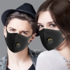 Reusable Mouth Mask Face Mask Washable Dust Proof Black Face Mask Breathable Super Soft Fashion Design Anti Dust Mask