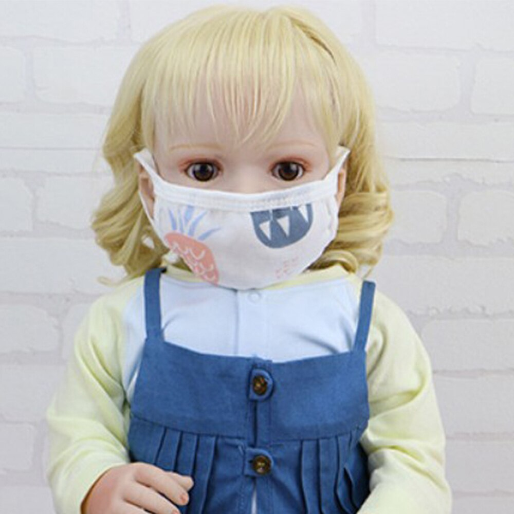 Cartoon Lovely Cotton Face Mask for Adlut Children Anti-fog Dust Windproof Warm Pollution Washable Unisex Breathable Mouth Masks 3
