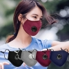 1Pcs Cotton Face Mask Breath PM 2.5 Valve Mouth Mask Anti-dust Activated Carbon Mask With Filter-Washable Reusable respirator