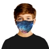 PM 2.5 Bacteria-proof filter mouth mask washable night sky scenery print face mask Anti bacterial reusable cotton face mask
