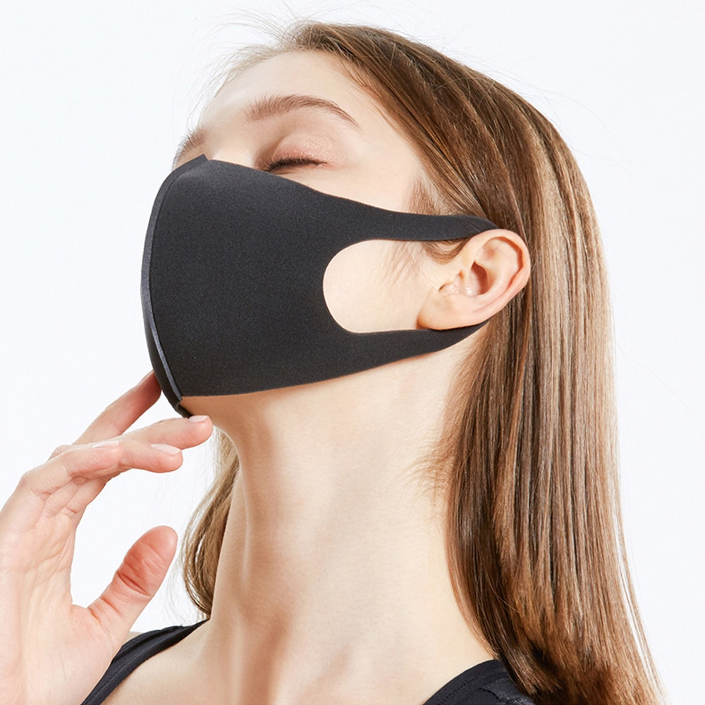Washable Dust ProofReusable Face Mouth Mask , Breathable Super Soft Fabric, Fashion Slim Face Design 1