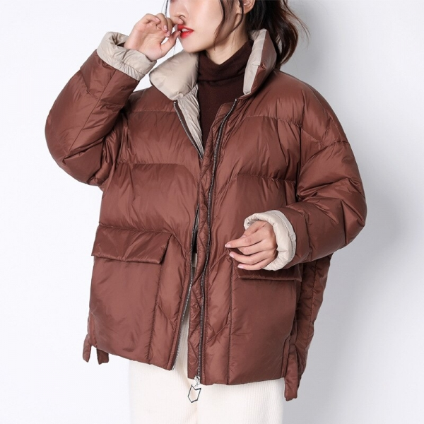 Ladies's Down Jacket Korean Puffer Winter Jacket