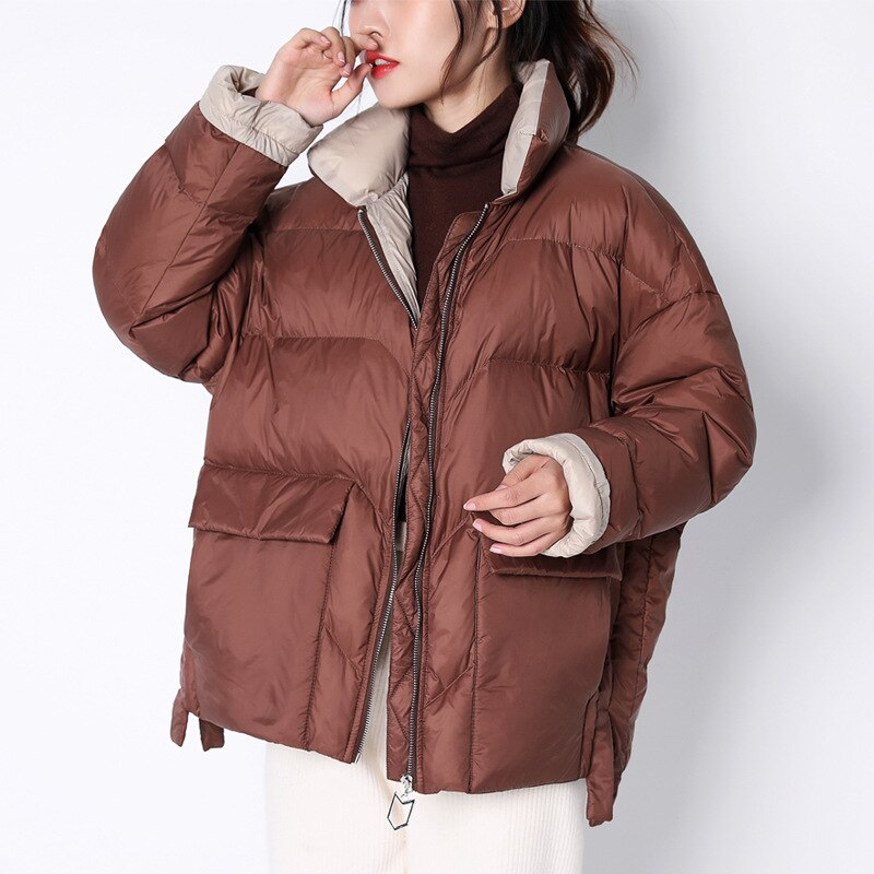 Ladies's Down Jacket Korean Puffer Winter Jacket