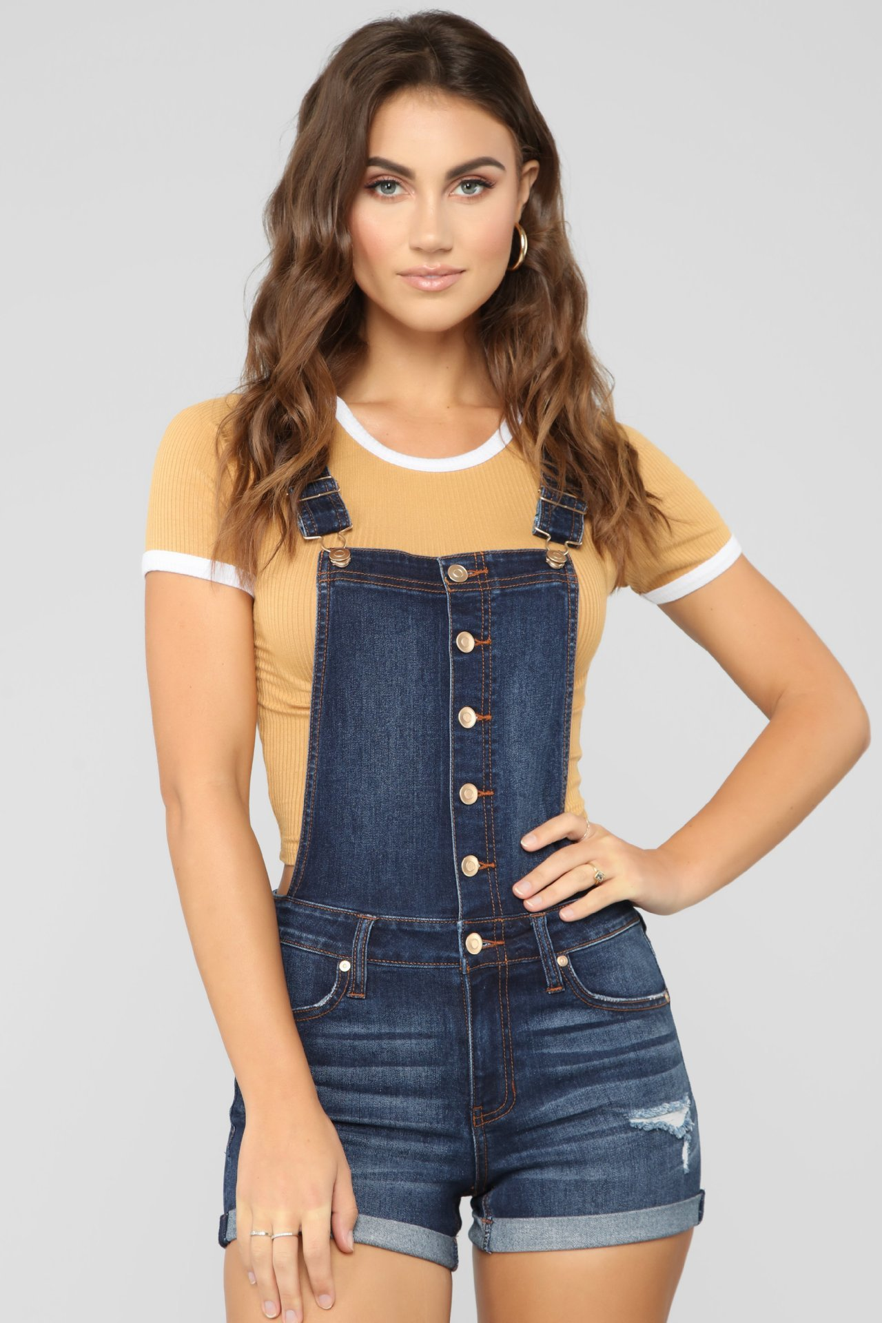 Plus Size Womens Rompers Jumpsuit Denim Short Overalls Skinny Jeans Playsuits Femme Ripped Hole Combi Shorts Combinaison Siamese 2