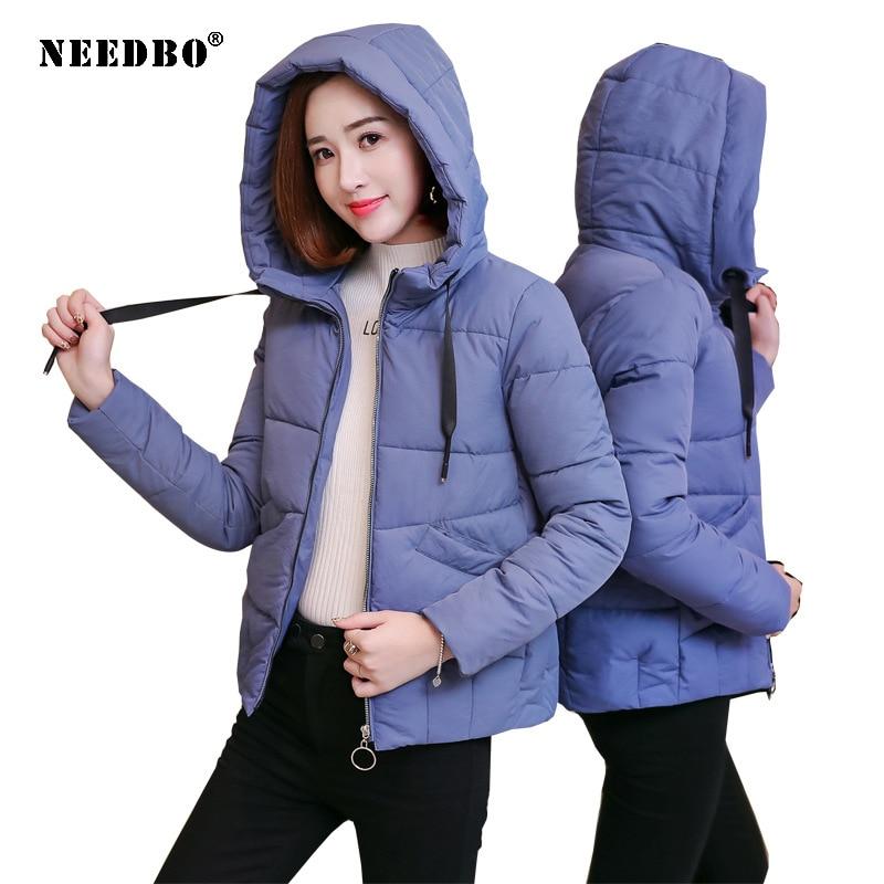 NEEDBO Women Down Jacket Hooded Down Coat White for Women Slim Down Jackets ultra Light Down Coat Winter Oversize Parka Doudoune 4