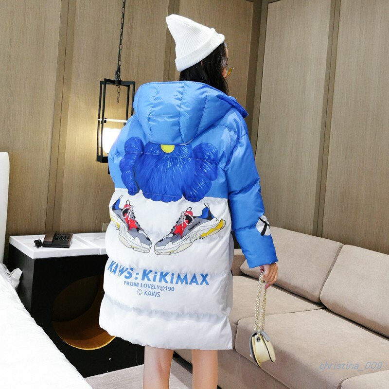2020 New Winter Women Jacket Fashion Woman Cotton High Quality Female Parkas Hooded Women's Coats Brand Clothing Overcoats Mujer 3