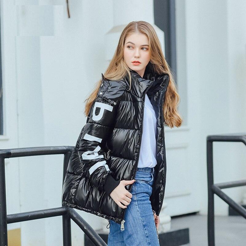 Women's Down Jacket Hood Down Coat Women Jacket Plus Size Parka Winter Puffer Jacket Coat Warm Oversize Lady Down Jackets 4