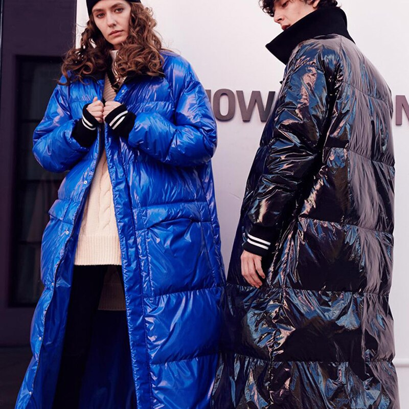 Winter New Fashion Listing Collection Women Warm Long Down Jacket Flash Parkas Plus Size 7XL Waterproof&Windproof 2