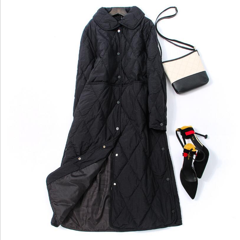 Women Down Jacket Winter Jacket Women White Duck Down Coat 2018 Warm Parka Female Long Down Jacket Quilted Coat 1