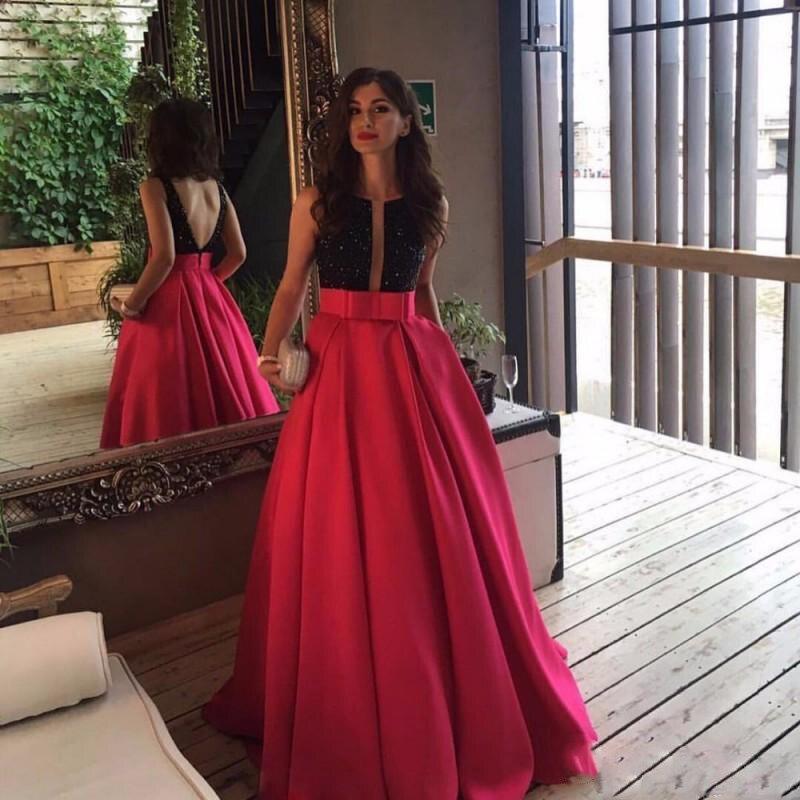 Fuchsia Women Long Skirt High Waist Floor Length Pleat Maxi Skirts Hot Pink Elegant Female Skirt Formal Party Skirt Custom Made 1