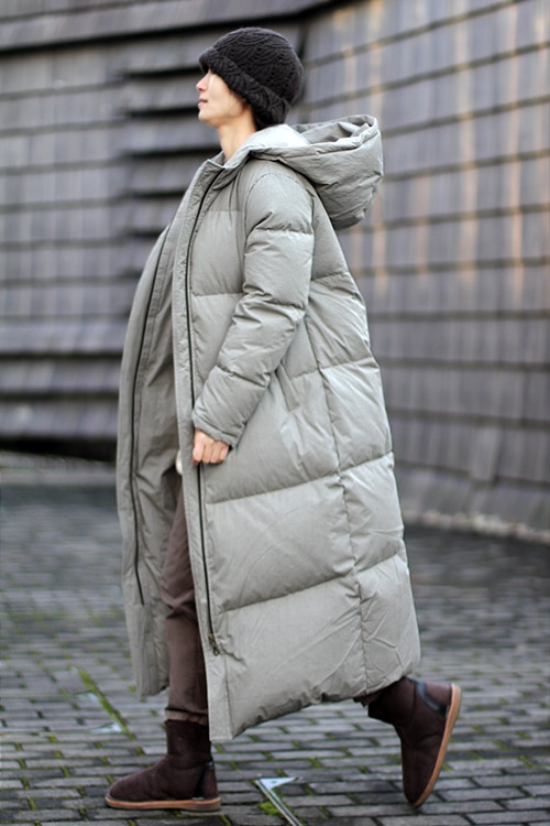 Extra Thick Women Down Coat Long Winter Coat Plus Size Winter Down Jacket 2017 New Design 1