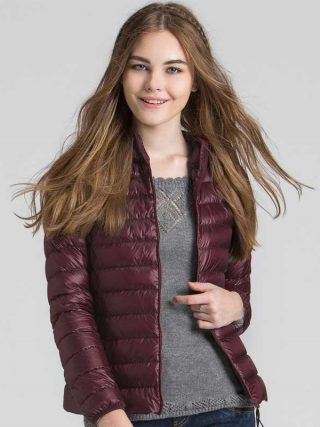 Autumn & Winter Extremely Gentle Quick Ladies Down Jacket