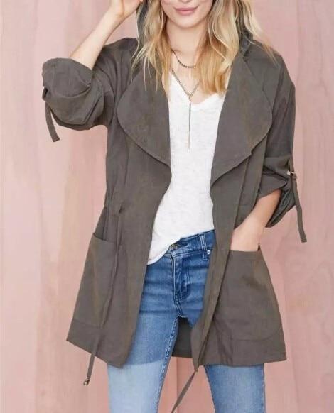 ZOGAA spring new womens jackets and coats Casual streetwear 5 colors Hooded windbreaker plus size S-3XL windbreaker women 4