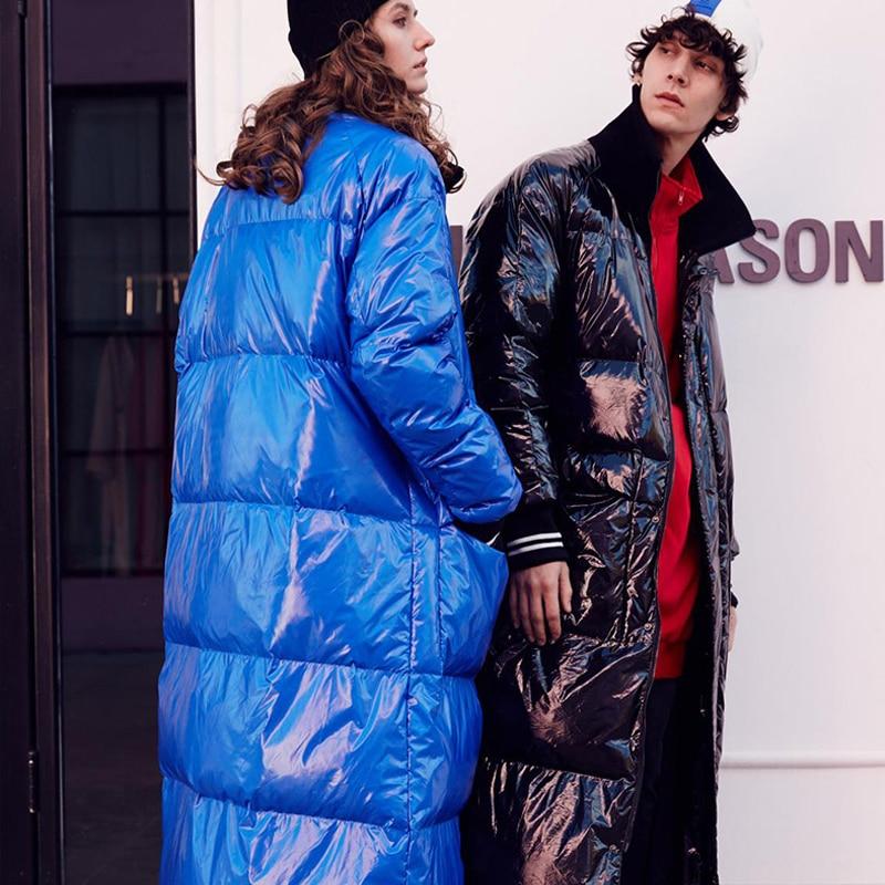 Winter New Fashion Listing Collection Women Warm Long Down Jacket Flash Parkas Plus Size 7XL Waterproof&Windproof 3