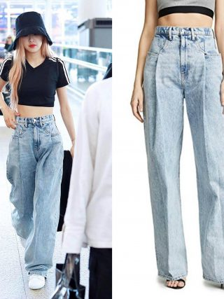 Kpop Celeb ROSE the identical summer season Excessive waist