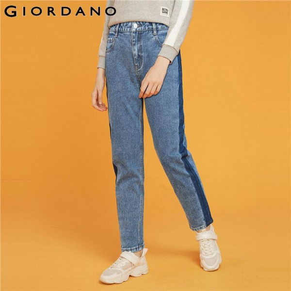 Mid Rise Straight Ankle-length Denim Jeans