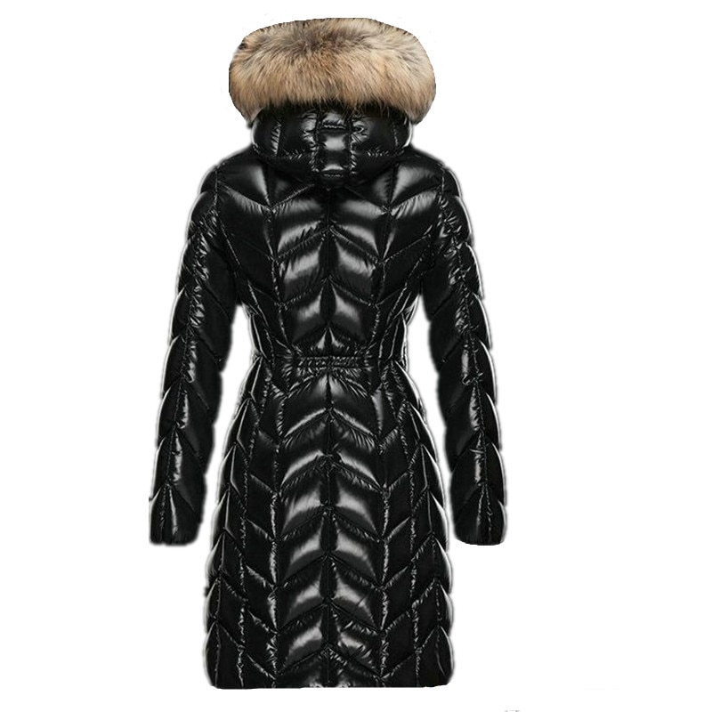 Winter Women's Down Jacket 90% White Duck Down Coat Hooded Long Warm Puffer Jacket 2020 High Quality Doudoune Femme Hiver KJ2596 2