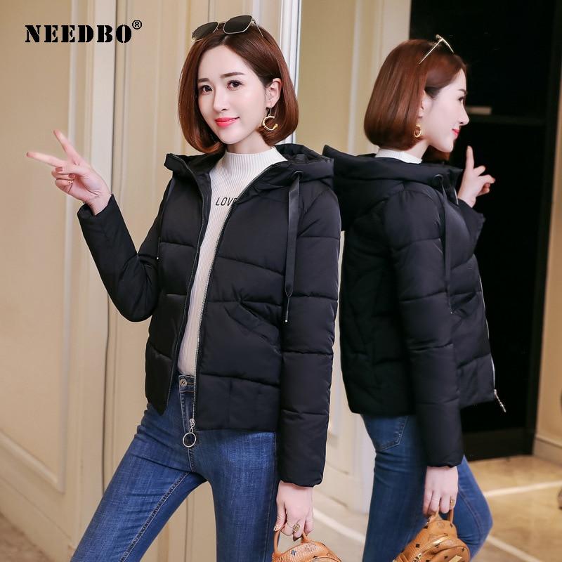 NEEDBO Women Down Jacket Hooded Down Coat White for Women Slim Down Jackets ultra Light Down Coat Winter Oversize Parka Doudoune 3