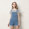 Denim Overalls Fashion Playsuit Dungarees High Waist