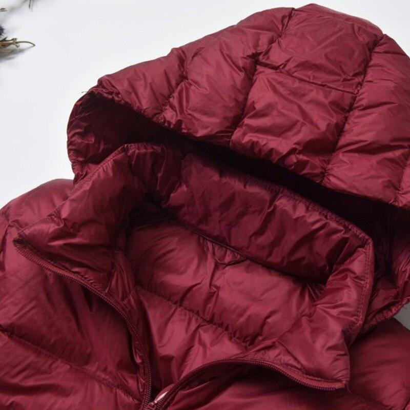NewBang Brand Long Winter Down Jackets Women Down Jacket Female Long Windproof Warm Coat Winter Hooded Detachable Outwear 3
