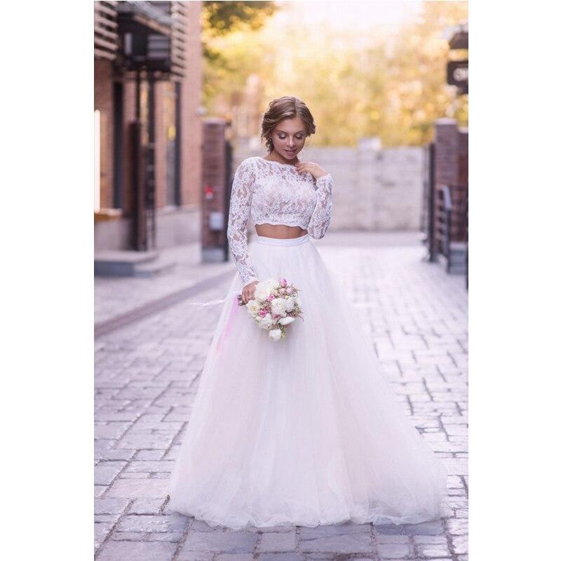 Soft White Tulle Wedding Skirts elegant High Waist Boho Beach Wedding Party Skirt Chic Overlap Women Long Maxi Skirts Plus Size 2