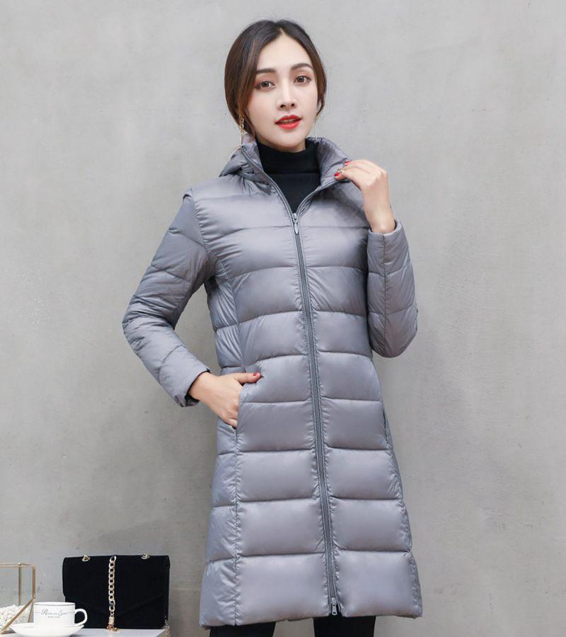 NewBang Brand Long Winter Down Jackets Women Down Jacket Female Long Windproof Warm Coat Winter Hooded Detachable Outwear 2