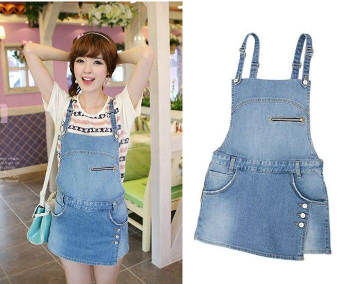 Women Denim zipper Style Casual Jumpsuit Front Flap Pocket Short Overalls Girl Washed Jeans Jumpsuit Romper