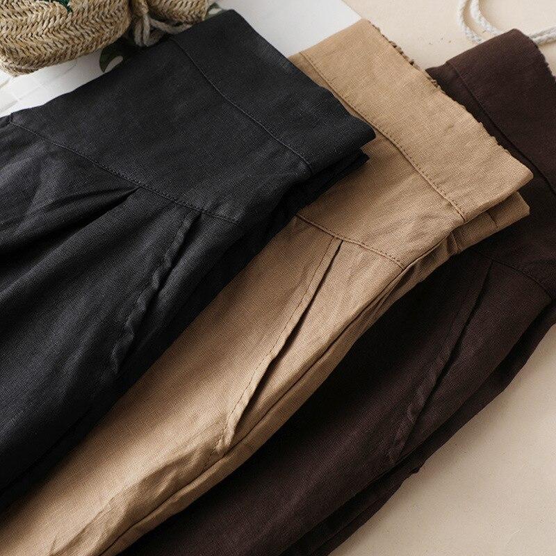 Bohemian Linen Skirt Women Fashion Korean Office Ladies Elegant Causal Plain Bow Long Maxi Skirts Vintage Ol A Line Skirts Green 2