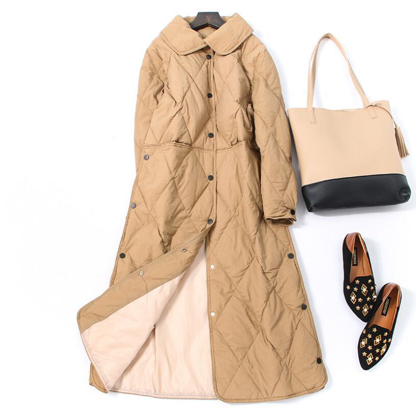Women Down Jacket Winter Jacket Women White Duck Down Coat 2018 Warm Parka Female Long Down Jacket Quilted Coat 2