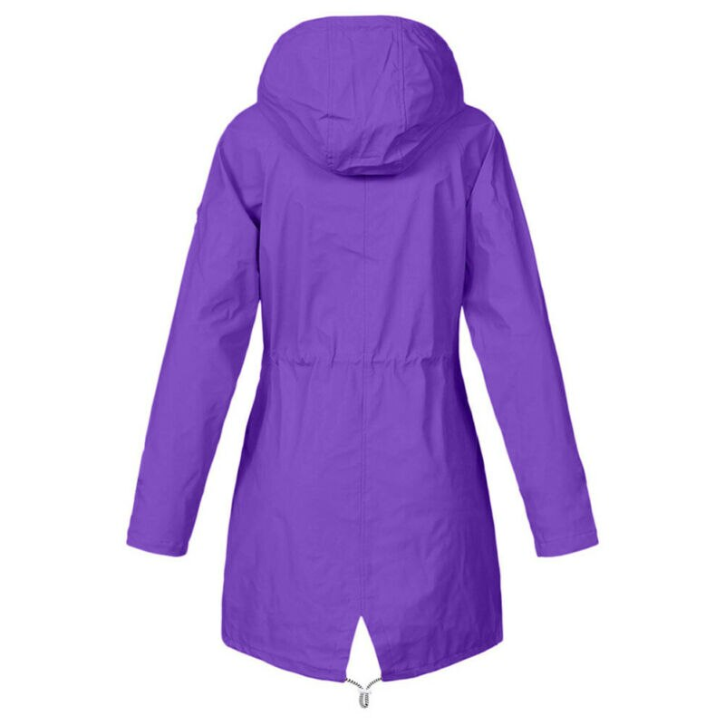 Women Jacket Coats Pure Color Waterproof Transition Jacket Outdoor Hiking Clothes Lady Lightweight Coat Streetwear Women Clothes 2