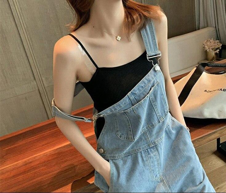 Harajuku Wide Leg Women's Jeans Plus Size 2020 Loose Woman Overalls Jeans Jumpsuit Autumn Fashion Blue Rompers Female Jeans 2