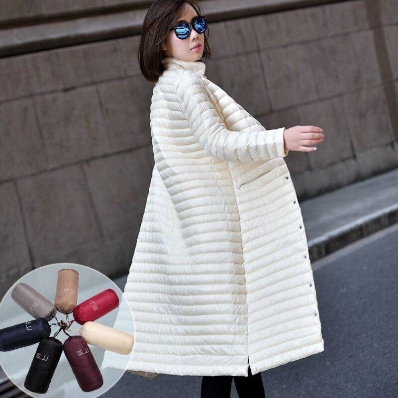 New Women's Down Jacket Coat Female 2020 Winter Down Jacket Women Coats X-Long 95% White Duck Down Coat Woman 1