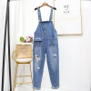 Jumpsuits Ladies Dishevelled Suspenders Overalls