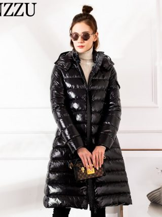 Winter BIG Girls down jacket Hooded