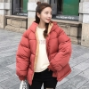 Ladies down coat new full zipper stable trend cotton-padded