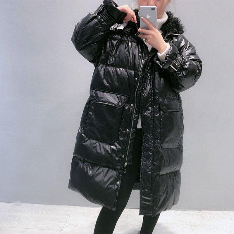 2020 Winter Long 90% White Duck Down Coat Female Thick Warm Parka Women Down Jacket Warm Winter Jacket Black Coats Outwear 2