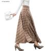 Lengthy Skirts Winter Excessive Waist